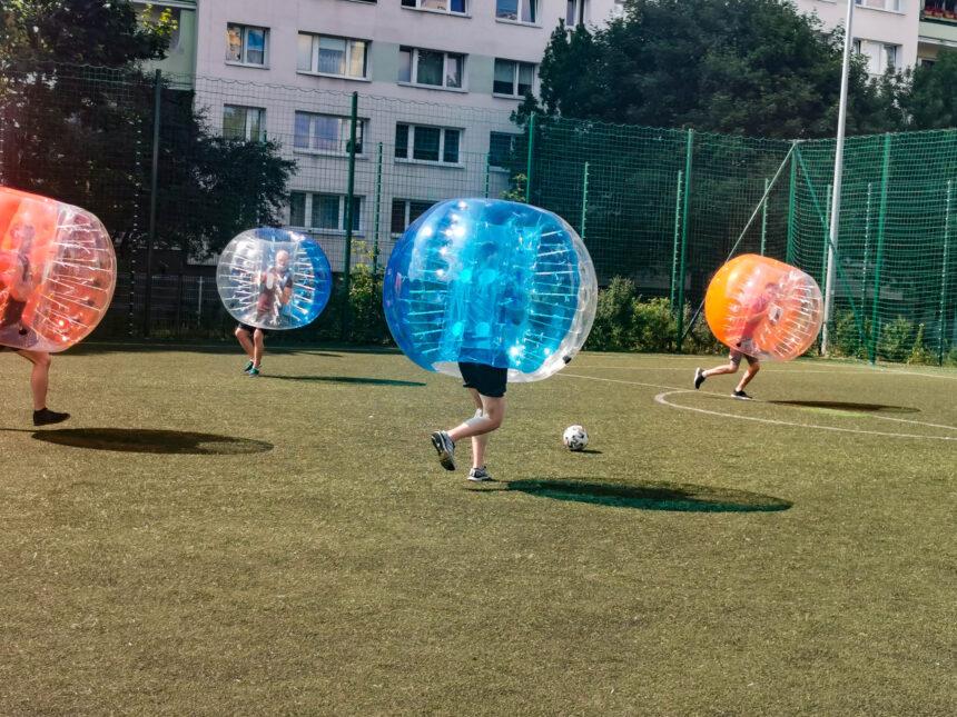 Bubble Football Poznań - Smile Games